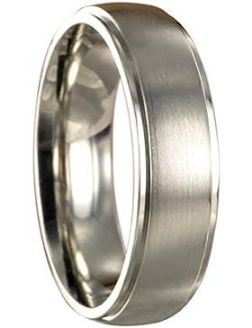 Edelstahl L316 Ring Partnerring Trauring Ehering + kostenlose Innengravur 10080
