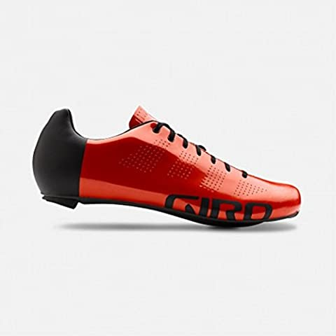 Giro Scarpe Road Empire Acc Gloss Red Black