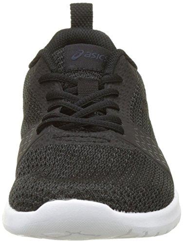 Asics Kanmei, Chaussures de Running Femme Noir (Black/black/white)