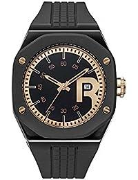 Reebok reloj rc-swa-g3-pbib-b3 Swag Gent. Guerrero Negro/esfera de color oro rosa. Silicona/guerrero negro correa.