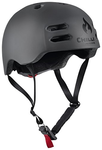 Chilli Pro Scooter In-Mold Helm - Anthrazit (L/58-61 cm)