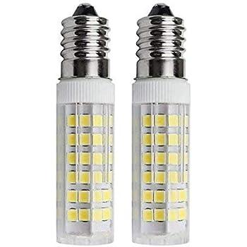SFTlite [2 unidades] E14 SES Bombilla LED 5W–500lm–Blanco Fresco 6000K 360 ° ángulo–LED Energía Bombillas Rosca Edison Pequeña con Super Brillante Lámparas ...