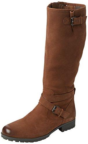 Hotter Women Belle Cowboy Boots, Brown (Dark Tan), 4 UK 37 EU