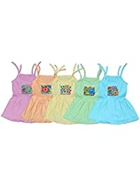 Feel Trendy Baby Girls dresses top( pock)5)(3to6 MONTHS)