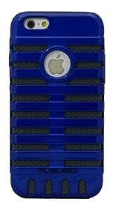 ImagineDesign(TM) Premium SuperArmour Dual Layer Musubo Back Case Cover for Apple iPhone 6 (Blue)