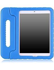 MoKo iPad Air 2 Funda - Material EVA Lightweight Kids Shock Proof Protector Cover Case con Manija Para Apple iPad Air 2 (iPad 6) 9.7 Pulgadas Tableta, AZUL