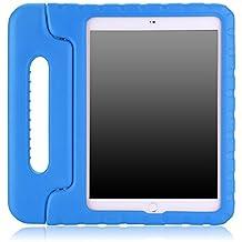 MoKo Funda para iPad Air 2 - Material EVA Lightweight Kids Shock Proof Protector Cover Case con Manija Para Apple iPad Air 2 (iPad 6) 9.7 Pulgadas Tableta, AZUL