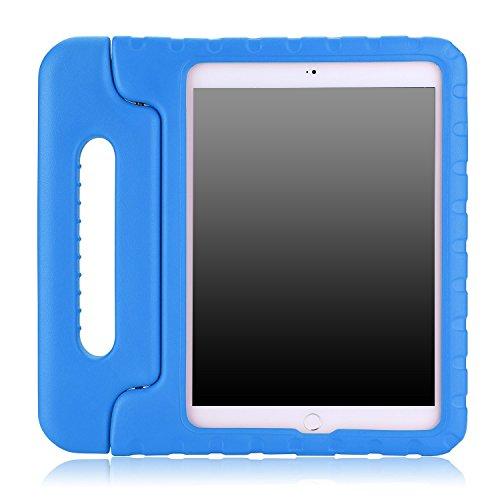 MoKo iPad Air 2Hülle–Kinder stoßfest Cabrio Griff Licht Gewicht Super Schutz Stand Cover Case für Apple iPad Air 2(iPad 6) 24,6cm IOS 8Tablet, BLAU