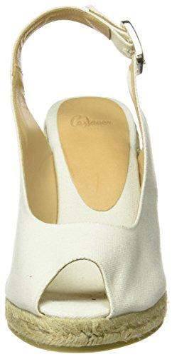Castaner Beli 8 600, Espadrilles femme Classic Canvas / Ivory