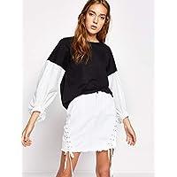 Koton Pullover Top for Women - Black