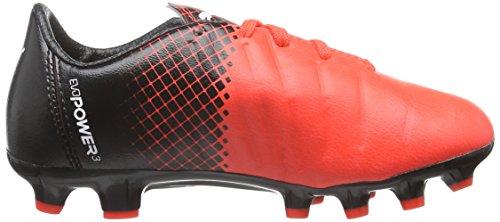 Puma Unisex Kids Evopower 3 3 Tricks AG Jr Football Boots  Red  Red Blast White Black 03   12 Child UK  31 EU