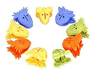 Premsons® Plastic Cloth Clip Set - Pack of 9 (Multicolor)