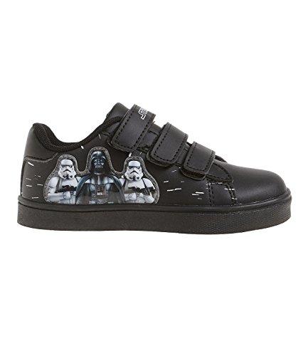 Star Wars-The Clone Wars Darth Vader Jedi Yoda Jungen Sneaker - schwarz Schwarz