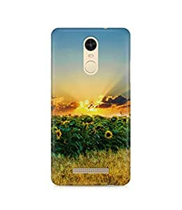 Gloss Gold Designer Back Cover for Xiaomi Redmi Note 3- Printed Back Case - Design Back Case for Redmi Note 3