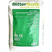 Hexeal EPSOM SALT   25KG BAG   100% Natural   FCC Food Grade   Magnesium Sulphate