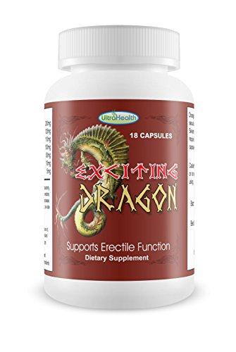 Exciting Dragon für die Erektion 18Kapseln für Herren Aufpreis von Gesundheit starker