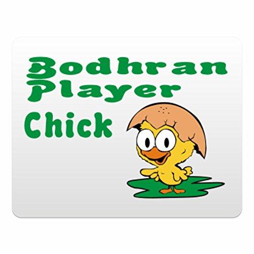 Eddany Bodhran Player chick - Plastic Acrylic