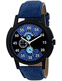 Rage Enterprise New Stylish Leather Strap 002 Analog Watch - For Men