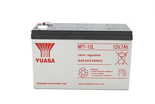YUASA NP7–12Batterie au plomb 6,3mm