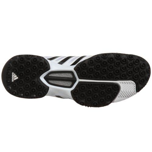 Adidas Cc Feather Iv, Unisex-Erwachsene Tennisschuhe Weiß (blanc/noir/argent)