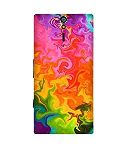 Psychedelic Sony Xperia S Case