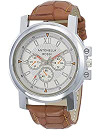 Antonella Rossi Analog White Dial Unisex's Watch-LB190320