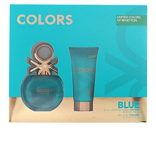 a4ac652c6060 Benetton Colors Blue Set d Eau de Toilette + Lotion pour Corps 100 ml