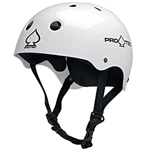 Protec Classic Cycling Helmet, Helm Classic, white, XS (52-54 cm)