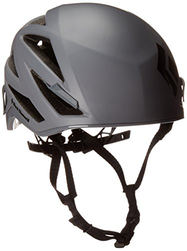 Helm Abseilen (Black Diamond Vapor, Farbe steel grey, Größe M/L)
