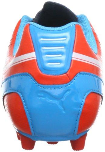 Puma evoSPEED 5 AG Jr 102596 Unisex-Kinder Fußballschuhe Rot (orange.com-white-hawaiian 05)