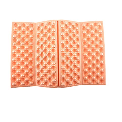 SHAFIRE Portable Foldable Foam Seat Waterproof Chair Cushion Pad Mat Outdoor Picnic Camping Sleeping Mat Waterproof Pad Dampproof Cushion(Size:39 * 28 * 1CM)(Orange)