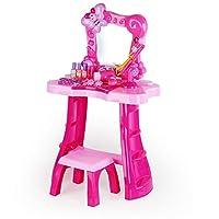 Yhjklm Girl Princess Toy Vanity Set Home Dressing Table Princess Dressing Table