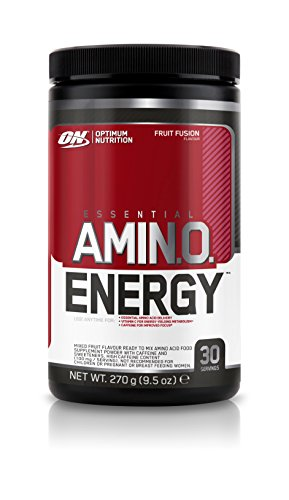 Optimum Nutrition Amino Energy Diet Supplement, 270 g - Fruit Fusion