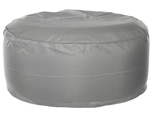 Bada Bing Outdoor Sitzsack Bodenkissen wasserabweisend grau Ø 55 cm