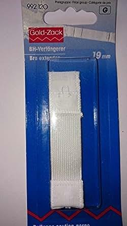 Prym Rallonge attache de soutien-gorge 20 mm 3 x 1 agrafes blanc