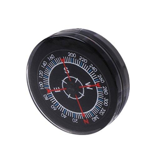 Tragbarer Mini-Kompass zum ölen von Überlebensknöpfen, zum Wandern, Camping, praktische Anleitung