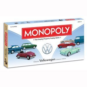 Volkswagen Monopoly Board Game by HASBRO (English Manual)