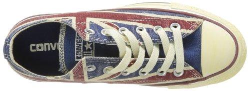 Converse Ctas Union Jack, Baskets mode mixte adulte Blanc (Blanc/Bleu/Rouge)