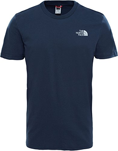 The North Face Herren Simple Dome T-Shirt Urban Navy/High Rise Grey