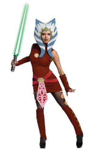Ahsoka Kostüm Adult The Clone (Ahsoka Star Erwachsene Wars Für Kostüme)