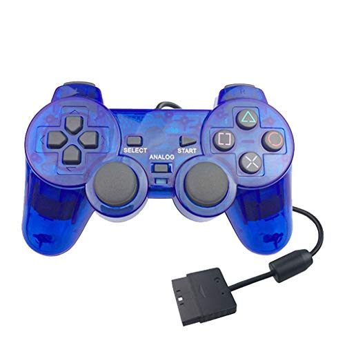 Klare transparente PS2 Controller Ersatz-Joystick für Sony Playstation 2