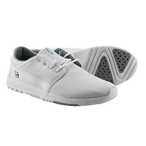 Etnies - Scout Sneaker Herren Fitness White Mono Hallen Schuhe RYAN SHECKLER (White 100)
