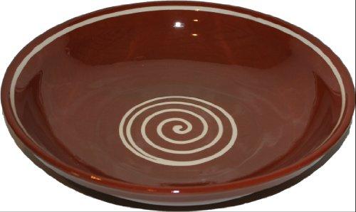 Amazing Cookware Bol spirale 38 cm, marron/crème