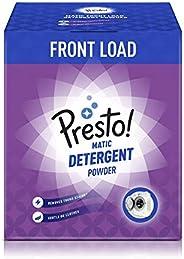 Amazon Brand - Presto! Matic Front Load Detergent Powder - 3 kg