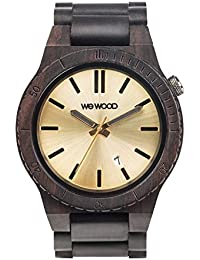 WeWood Arrow Black Gold Herren-Holzuhr WW31003