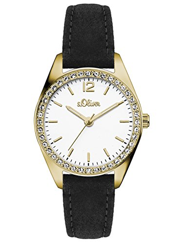 s.Oliver Time Damen-Armbanduhr SO-3388-LQ