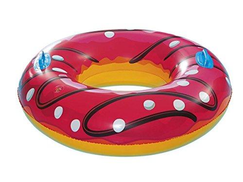 Crivit Luftmatratze, Schwimmreifen, Wasserring, aufblasbar Donut Ø 88 cm
