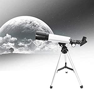 Lukzer 90X High Power Refractor Monocular Astronomical Telescope for Kids with Portable Tripod to See Planets Galaxy Seeing Stars/Monocular Telescope for Long Distance