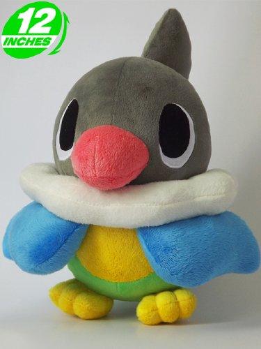 Pokemon Chatot/Pijako/Plaudagei 12 inch Plush Doll