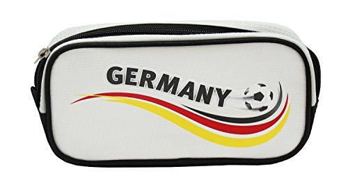 Idena 21561 Trousse à crayons Motif Allemagne, 22 x 11 x 5,5 cm